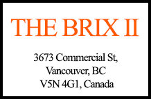 The Brix II 3673 Commercial V5N 4G1