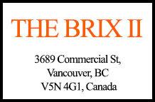 The Brix II 3689 Commercial V5N 4G1