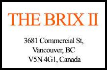 The Brix II 3681 Commercial V5N 4G1
