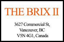 The Brix II 3627 Commercial V5N 4G1