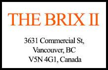 The Brix II 3631 Commercial V5N 4G1