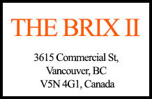 The Brix II 3615 Commercial V5N 4G1