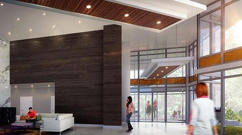 8850 University Crescent, Burnaby, BC V5A, Canada Lobby!