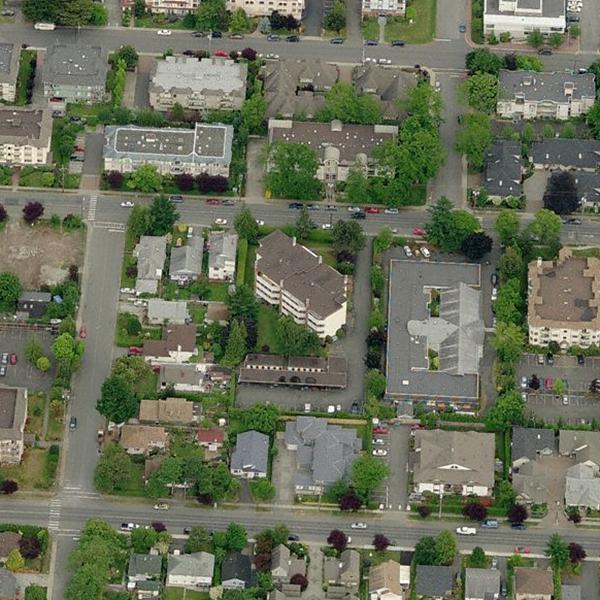 Edgeware Place - 9900 5 Street, Sidney, BC - Birds eye view!