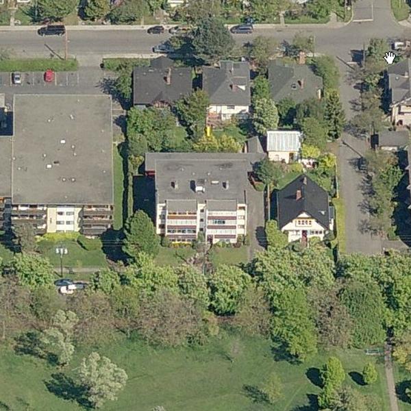 Blair House - 978 Heywood Avenue, Victoria, BC - Birds eye view!