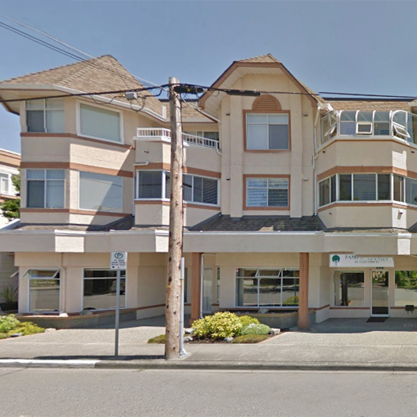 The Oakville - 9717 3rd Street, Sidney, BC - Building exterior!