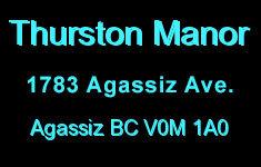 Thurston Manor 1783 Agassiz-Rosedale V0M 1A3