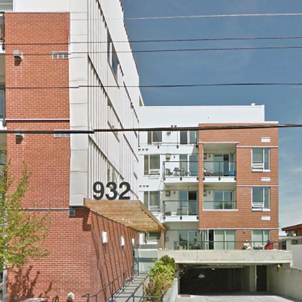 The Urban - 932 Johnson Street, Victoria, BC - Building exterior!