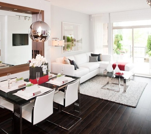9877 University Crescent, Burnaby, BC V5A 4Y6, Canada Dining Area & Living Area!
