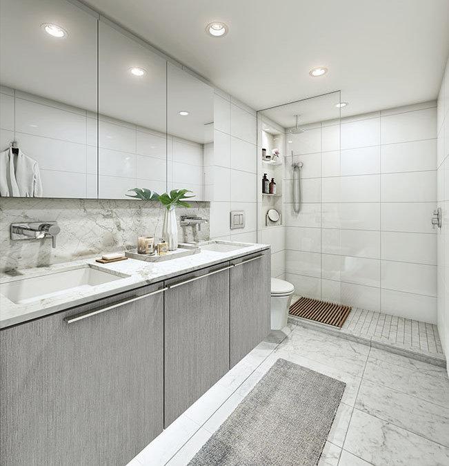 1111 Richards St, Vancouver, BC V6B 7P7, Canada Bathroom!