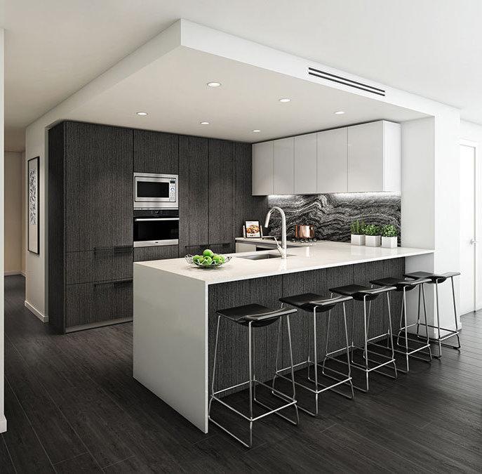 1111 Richards St, Vancouver, BC V6B 7P7, Canada Kitchen!