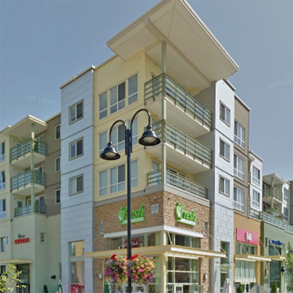 Margan Crossing - 15735 Croydon Dr, Surrey, BC - Typical part of the complex!