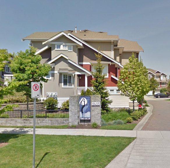 Two Blue - 19455 65th Ave, Surrey, BC - Building exterior!