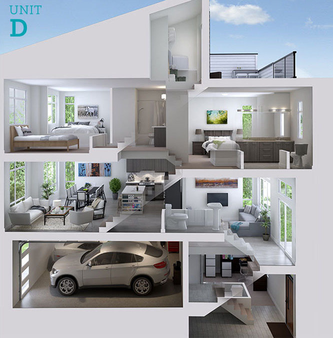 14057 60A Ave, Surrey, BC V3X 2N2, Canada Cross Section Interior!