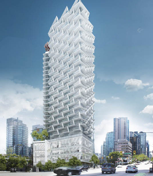 1575 W Georgia St, Vancouver, BC V6G 2T1, Canada Rendering!