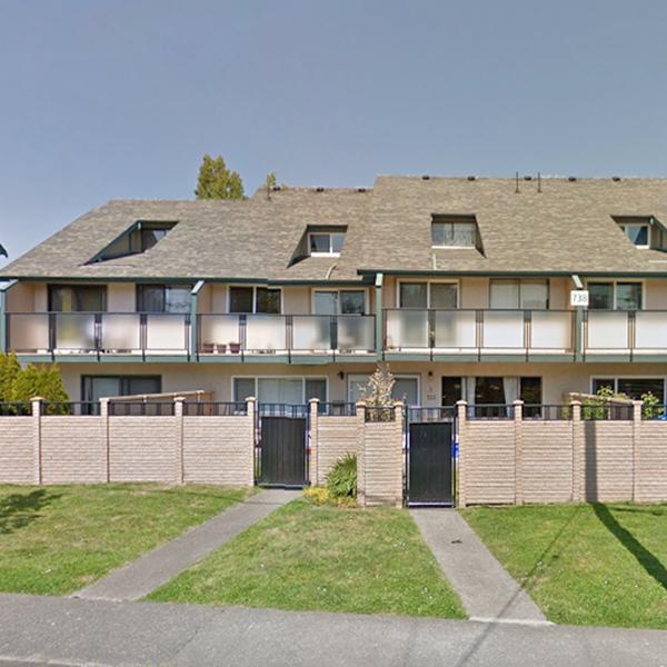Wilson Court - 734 Wilson St, Victoria, BC - Building exterior!