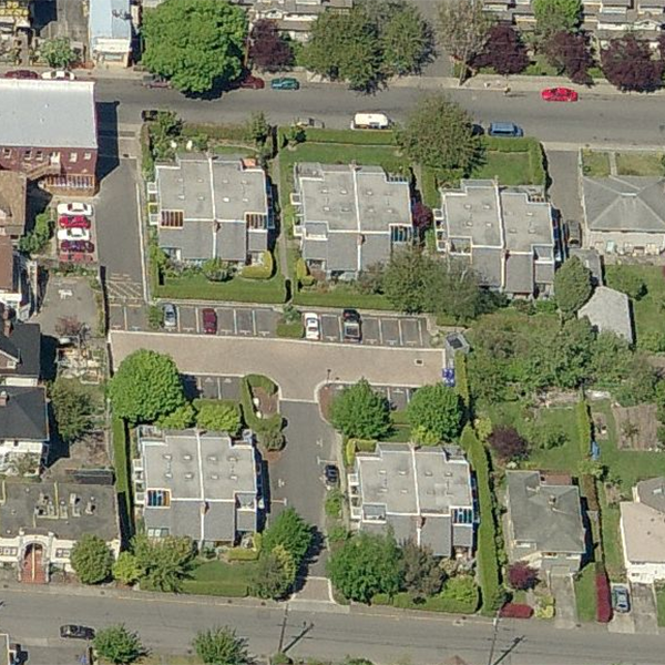 Springwood - 1314 Vining St, Victoria, BC - Birds eye view!
