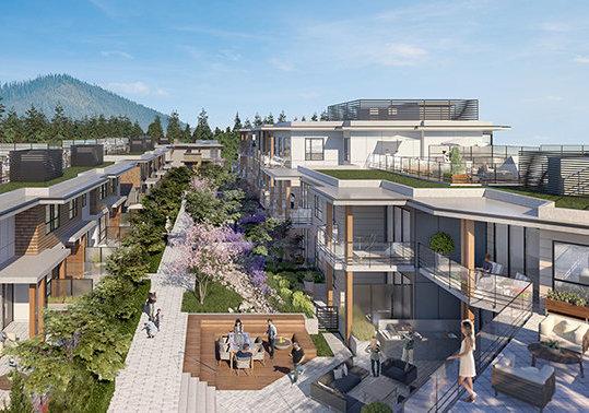 3260 Edgemont Blvd, North Vancouver, BC V7R 2P2, Canada Courtyard!