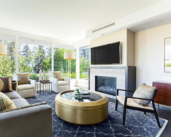 866 Arthur Erickson Place, West Boulevard, Vancouver, BC, Canada Living Area!