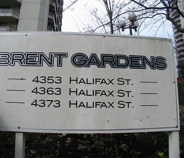 Brent Gardens Complex Sign!