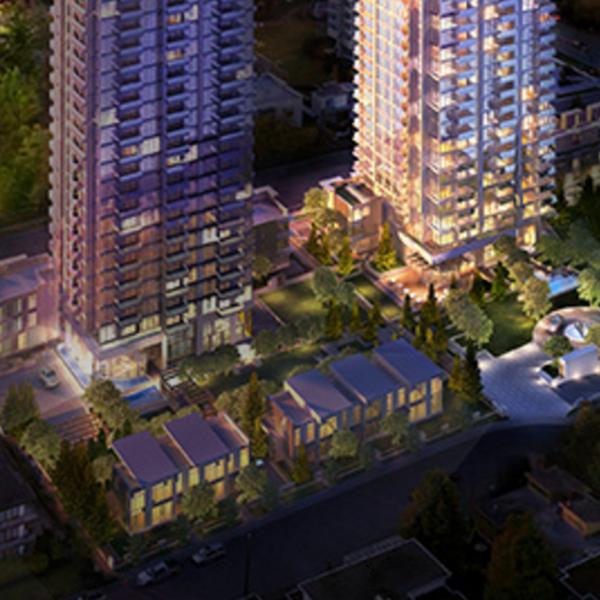 MET 2 - 6550 Nelson Avenue, Burnaby, BC - Developer's Photo!