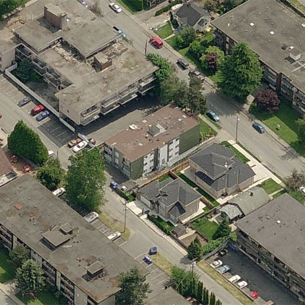 1015 St Andrews St, New Westminster, BC - Birds eye view!