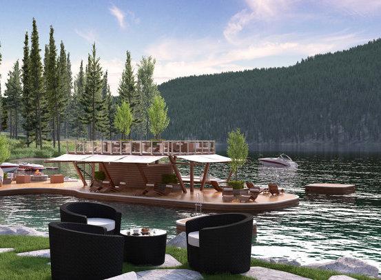 Swim-up Lounge!