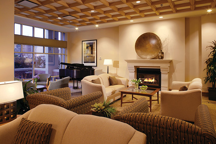Fireplace Lounge!