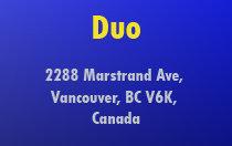 Duo 2288 MARSTRAND V6K 4S9