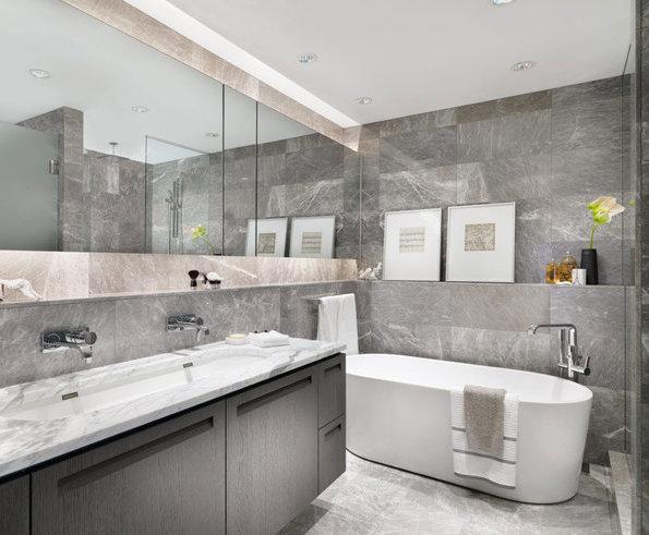 Display Suite Master Bathroom!