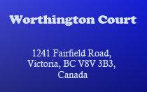 Worthington Court 1241 Fairfield V8V 3B3