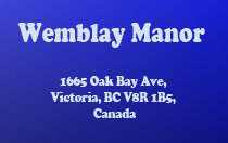 Wemblay Manor 1665 Oak Bay V8R 1B5