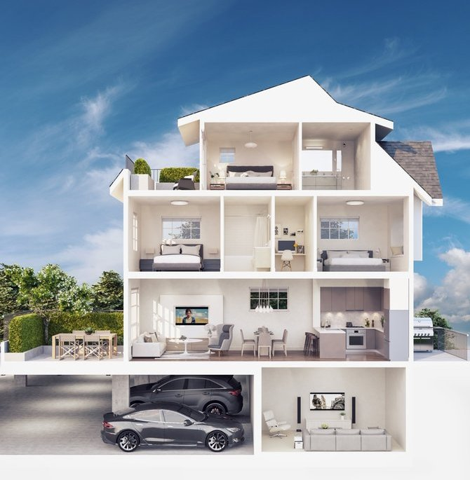Rendering of a Townhouse!