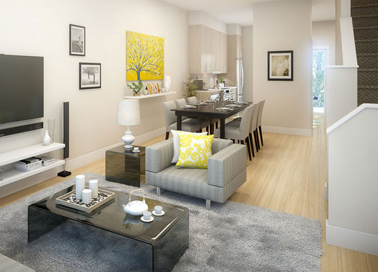 Display Home Living Room Dining Room!