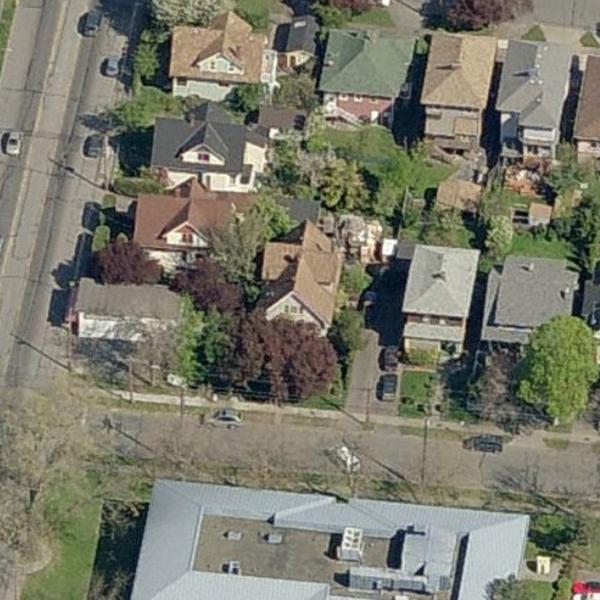1110 Pembroke Street, Victoria, BC - Birds Eye View!