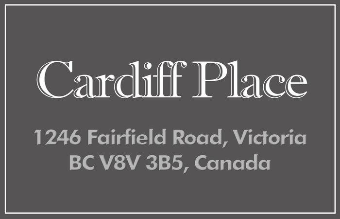 Cardiff Place 1246 Fairfield V8V 3B5