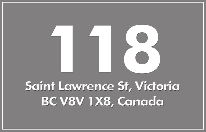118 St. Lawrence 118 St Lawrence V8V 1X8