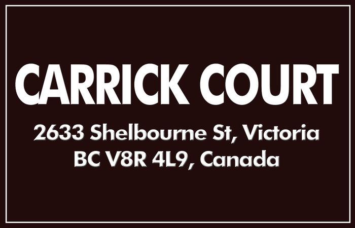 Carrick Court 2633 Shelbourne V8R 4M1