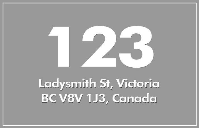 123 Ladysmith 123 Ladysmith V8V 1J3