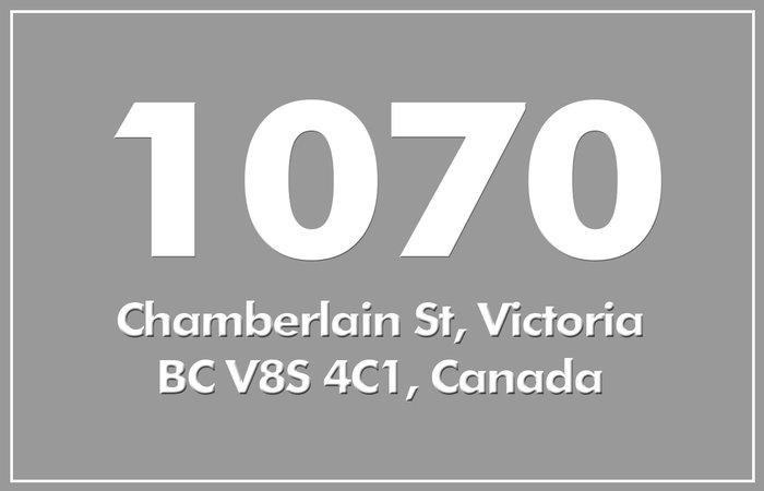1070 Chamberlain 1070 Chamberlain V8S 4B9