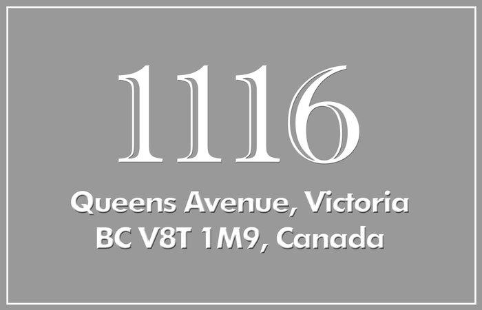 Villa Lisa 1116 Queens V8T 1M9