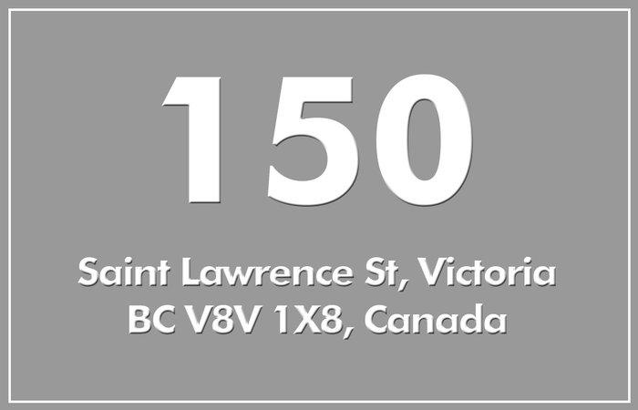 150 St Lawrence 150 St. Lawrence V8V 1X8