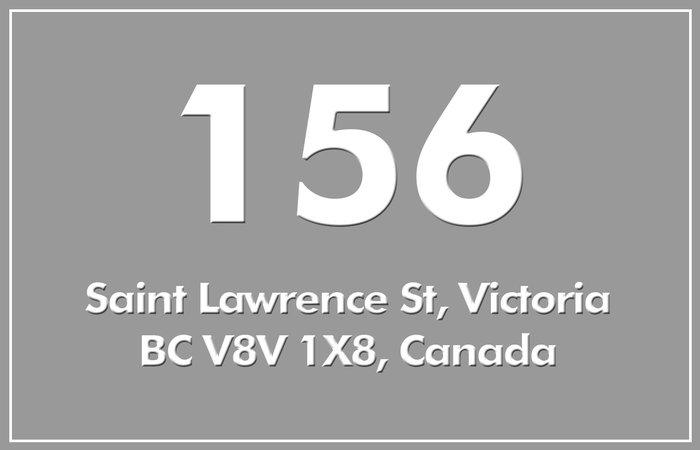 156 St Lawrence 156 St. Lawrence V8V 1X8