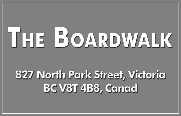 The Boardwalk 827 North Park V8W 3Y3