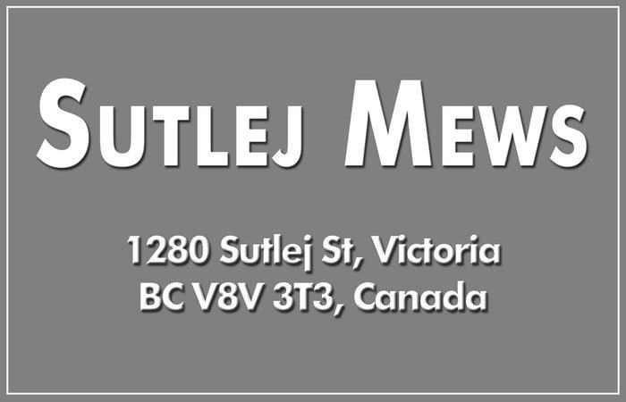 Sutlej Mews 1280 Sutlej V8V 2V8