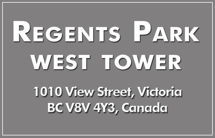 Regents Park - West Tower 1010 View V8V 4Y3
