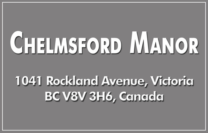 Chelmsford Manor 1041 Rockland V8V 3H6