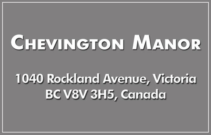 Chevington Manor 1040 Rockland V8V 3H5