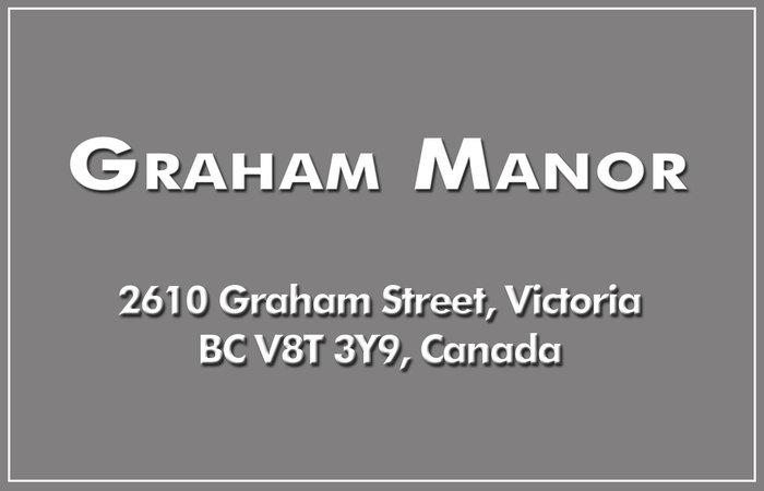 Graham Manor 2610 Graham V8T 3Y9