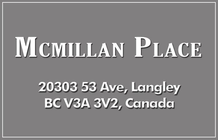 Mcmillan Place 20303 53RD V3A 6S8